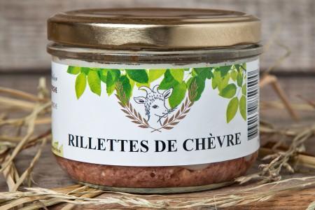 RILLETTE DE CHEVRE 180 G