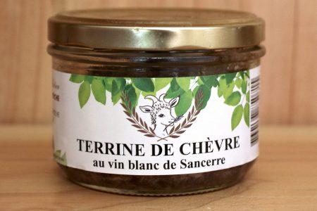 Terrine de chèvre au vin blanc de Sancerre