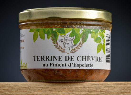 Terrine de chèvre au piment d'Espelette copie
